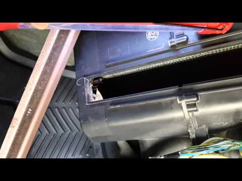 Part#3 2003-2009 Honda pilot cabin air filter replacement.