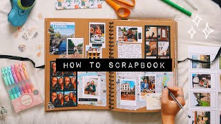 DIY HOW TO SCRAPBOOK ideas & inspiration