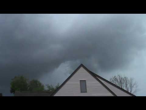 Severe Thunderstorm Middletown CT. 8/11/2016   Vid 1