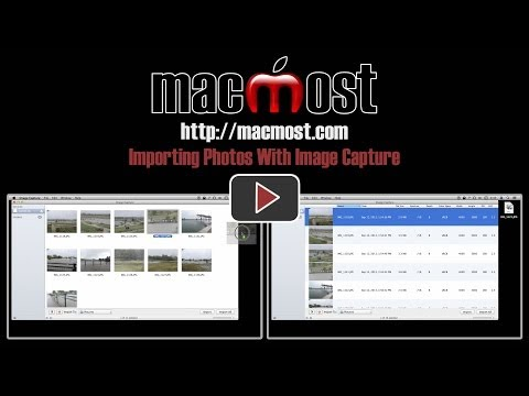Importing Photos With Image Capture (#969)
