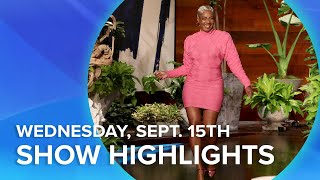 Tiffany Haddish, Charli & Dixie D'Amelio, & More! | Highlights From Wednesday, September 15th