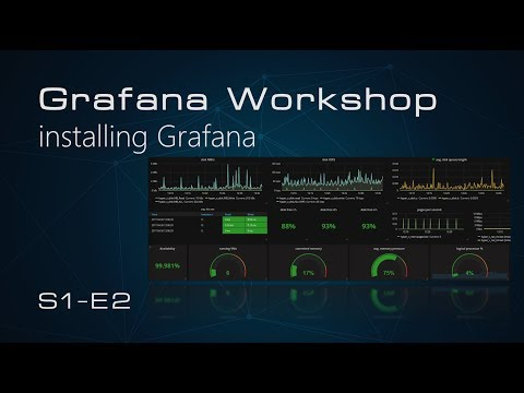 S1E2 - Grafana Workshop - Installing Grafana V5 0 0 on