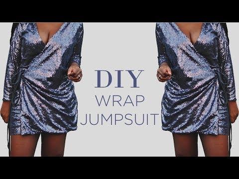 DIY Wrap Jumpsuit