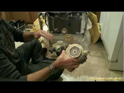 How to Fix: Replace a Dishwasher Motor/Pump Assembly