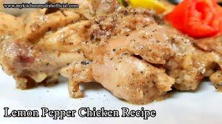 Lemon Pepper Chicken Recipe in hindi   Murgh Kali Miri Recipe - English Subtitles