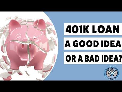 Taking a 401K Loan...Good Idea 👍🤔 or Bad Idea?👍🤔