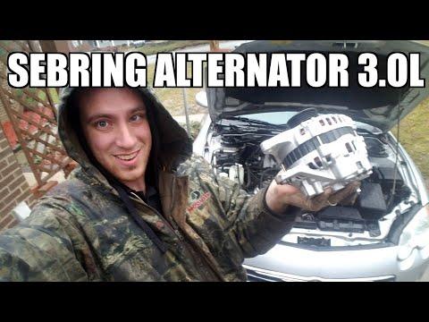 Alternator 01-06 Chrysler Sebring Replacement