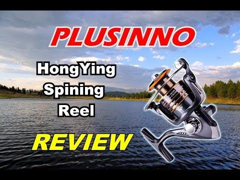 🐟   REVIEW: Plusinno HA Model Fishing Reel.  Real world live testing! 🏕️