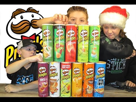 Holiday PRINGLES Challenge