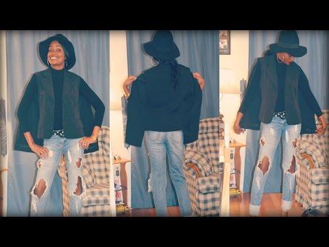 DIY Cape Jacket or Cape Blazer | Fashion Friday (Sewing Tutorial)