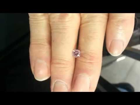 d2807a89f Pink Diamond 0.68ct Fancy Intense Pink FIP SI1 Argyle 2013 tender 4PP SI2