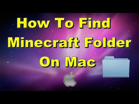 How to find Minecraft folder on mac, if it isn't just in Library