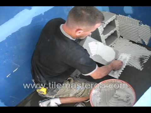 PART 1. How to build & waterproof shower bench