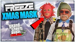 All Gta Christmas Masks.Gta5 I New Freeze Xmas Mask On Outfits Director Mode