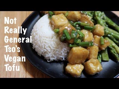 Not Really General Tso's Vegan Tofu