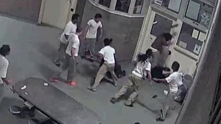 Surveillance Video Shows How 3 Inmates Brutally Beat Their Jail Guards
