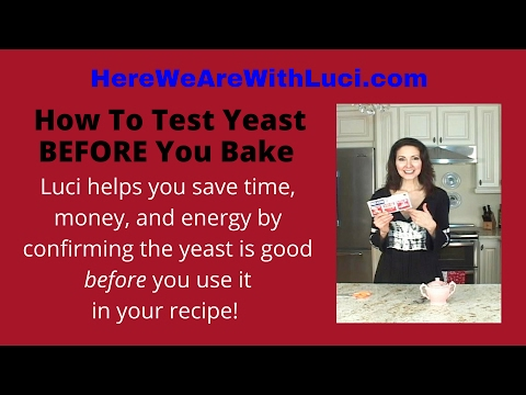 How To Test Yeast BEFORE You Bake