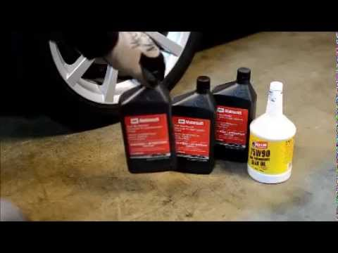 NC 2006-2014 Mazda Miata Transmission and Rear End Fluid Gear Oil Changes