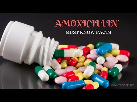 Amoxicillin:  Commonly Prescribed Antibiotic to Treat Bacterial Infections