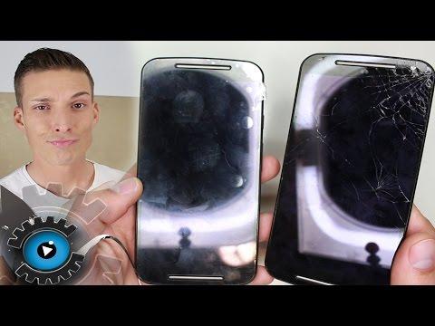 Motorola Moto G2 Glas Display Wechseln Tauschen Reparieren [Deutsch]