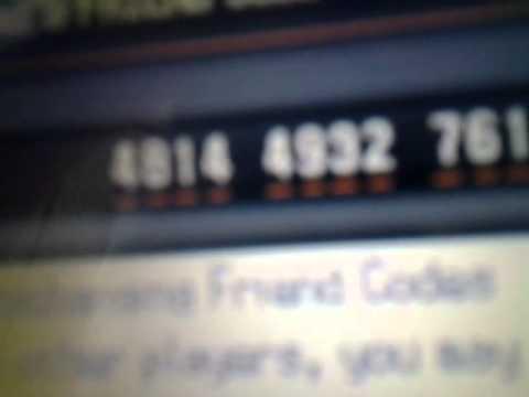 My new friend code for Pokemon white 2