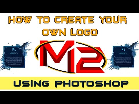 How to create cool logo in photoshop | Photoshop tutorial