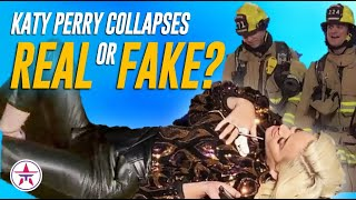 Katy Perry COLLAPSES on @American Idol! REAL or FAKE?