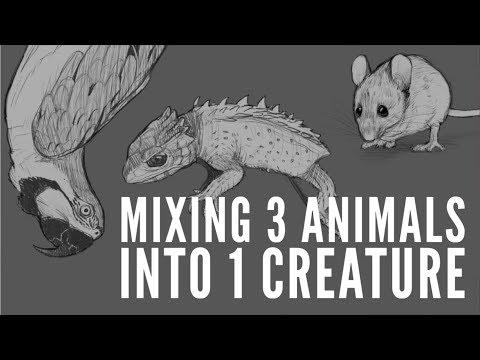 Mixing 3 Animals into 1 Creature