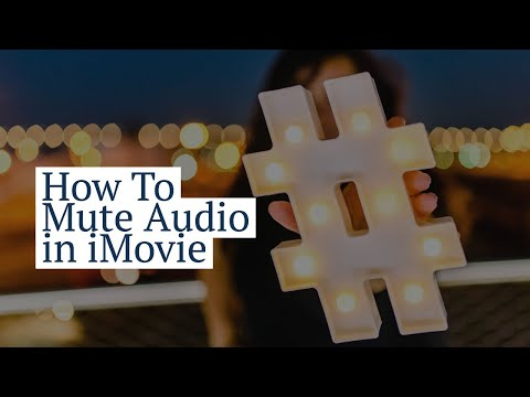 How To Mute Audio in iMovie