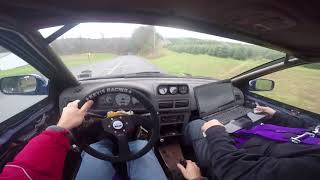 Driving a 2JZ swapped Subaru Impreza