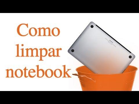 Como limpar seu Notebook corretamente sem estragá-lo.
