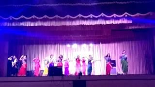 2k17 college day celebration Vidya Academy of Science and Technology