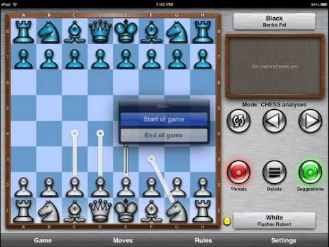Chess Pro + Coach for iOS 7 Review: App by ChessTiger