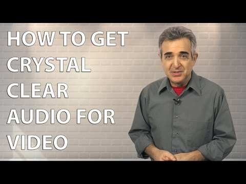 How to Record Crystal Clear Audio for Video