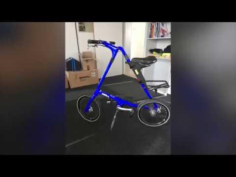 Das Faltrad Strida XS Blue Man im ersten Test