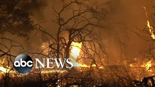 Death toll rises in California wildfires