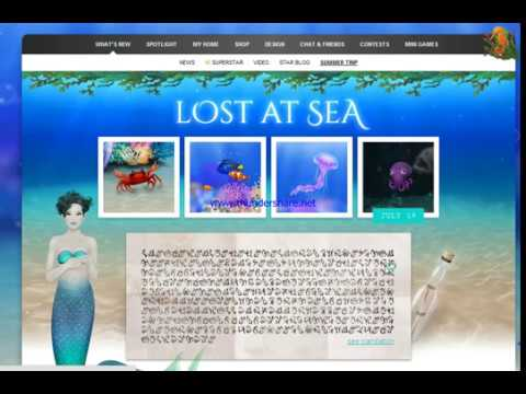 STARDOLL: Lost at sea/ finding friends ( day#3, 17.07.17 )
