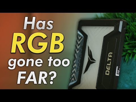 An RGB...SSD?! Is it worth it?