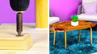 WOOD FURNITURE IDEAS to create something special for your home