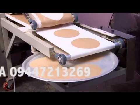 Chapati making machine - Vesta Engineers, Aluva - 5, Kerala, India.