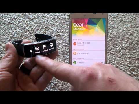 Samsung Gear Fit Tutorial