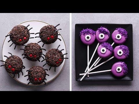 Last Minute Halloween Treats   Halloween Recipes   DIY Easy Halloween Treats by So Yummy