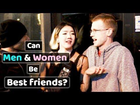 Can men and women be best friends? 남자와 여자가  친한 친구가 될 수 있을까?