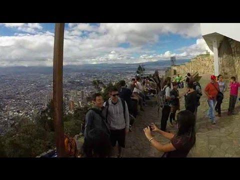 Exploring Bogota, Colombia: Hiking Up Monseratte Mountain