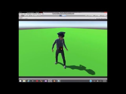Unity Tutorial:Making a Script for Idle and Walk Animations for your Game