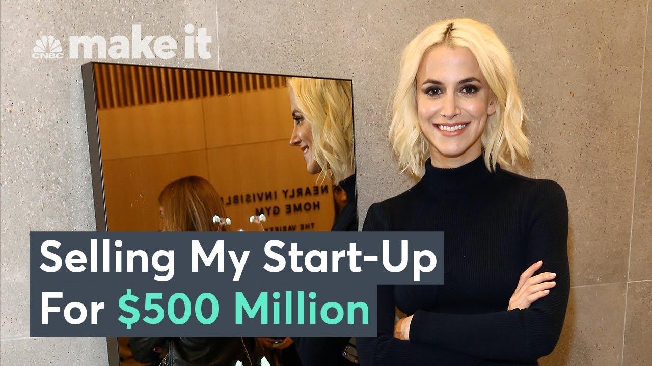 How I Sold My Start-Up To Lululemon For $500 Million