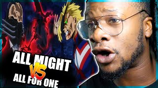 All Might vs. All For One FULL FIGHT 1080p [60FPS] (REACTION)