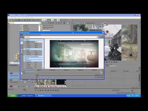 Side-By-Side; Split Screen View in Sony Vegas Pro 10 Tutorial