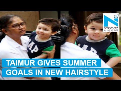 Taimur Ali Khan ditches man bun to get a new hairstyle
