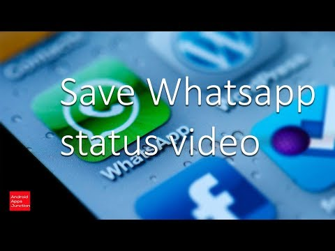 How to save whatsapp status video in iPhone